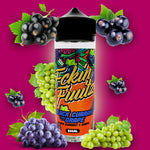 Fckin Fruitz has Flavours according to all tastes and demands!!  Mango Tasty   Pineapple Strawberry Bubble Gum Raspberry Sherbet Berry Lemonade Kanzi - Berry Mixed Blue Pop - Blueberry Lollipop Black Currant Grape Black Currant Candy - Black Currant Bubble Gum Amazing Grape Blueberry Candy - Blueberry Bubble Gum Blueberry Jam Apple Lychee