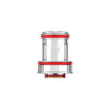 Uwell Crown IV Coils contains four coils which are compatible with the Uwell Crown IV. There are three variations of coils the dual SS904L dual coil which come in either 0.2ohm and 0.4ohm and the FeCraL UN2 Meshed coil at 0.23ohm.  These replacement coils are designed to improve flavours and performance of your device. We recommend you replace coils every two to three weeks which may vary depending on how frequently you vape.