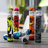 The Freemax Twister 80W Starter Kit is a stick device includes the Twister 80W variable wattage built-in battery tube mod and the Fireluke 2 mesh coil sub ohm tank. The Twister 80W mod utilizes a 2300mAh built-in battery and twist style variable wattage function, a simple twist of the base then you can easily switch the output wattage from 5- 80 watts, the easiest way of its kind.