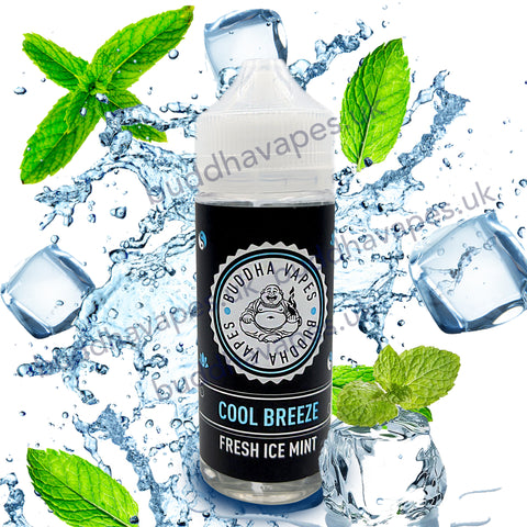 Cool Breeze E-Liquid by Buddha Vapes is a fresh cool ice mint flavour that you will fall in love with.
