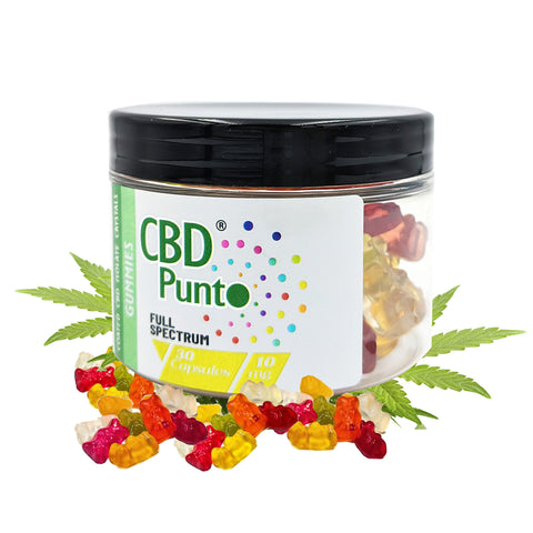 The popularity of CBD Punto Gummies continues to skyrocket and it's easy to see why. Sweets provide a fun and convenient way to enjoy the wonderful benefits of CBD. They taste delicious and are very easy to eat. CBD Punto's Gummies are completely safe, convenient, effective and perfect for people who are trying CBD for the first time.  Are you ready for a tasty bedtime treat that will help you fall asleep. CBD Punto Gummies contain what you're looking for in 30 bear shaped 10mg multi-flavoured sweets.