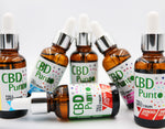 CBD  Punto Peppermint flavour CBD Oral Drops is a full-spectrum CBD oil which is taken orally, just a few drops under the tongue. This is a CBD oil infused with a glorious minty cool burst of flavour – pure nature in a bottle.