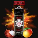 Mango Lychee e-liquid by the new Buddha Vapes Series Reborn. Mixed mango and lychee make a better taste!.  Primary Flavours: Mango, Lychee.  VG/PG: 80/20  Size: 100ml + 2x10ml bottles of 18mg Nic Shots included with each bottle you order.  Country: UK  Please Note: This e-liquid is provided in a 120ml bottle with 100ml of e-liquid, allowing you to add 2x10ml of 18mg Nicotine Shots (if required) to make it 3mg.