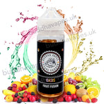 Oasis e-Liquid by Buddha Vapes is a combination of many candied fruits.  The Oasis buddha vapes e-liquid feels like you've opened one of the packets of tutti Frutti way back when.