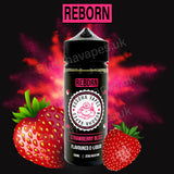 Strawberry Bliss e-liquid by the new Buddha Vapes Series Reborn. Taste of cloudy strawberry.