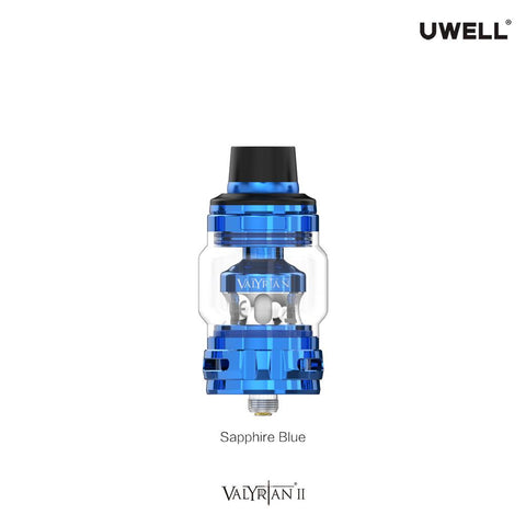 The Uwell Valyrian 2 vape tank builds on the success of the original Valyrian. Packed with new features, this sub ohm tank features flavour-enhancing technology as well as a self-cleaning element and a whole host of new compatible coils. The 510 connection allows it to be used with a range of regulated vape mods.