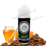 Tobacco e-Liquid by Buddha Vapes captures a traditional cigarette taste with a silky and gentle smooth honey wood aftertaste.