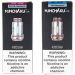 The Nunchaku Coils from Uwell are for use with the Nunchaku sub ohm tank and come in a resistance of either 0.25 Ohm or 0.4 Ohm. The coils are able to be purchased in packs of 4 replacement coils.