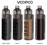 Voopoo DRAG S Kit is a compact and ergonomic pod mod system kit that consists of a 4.5ml pod cartridge and a 2500mAh built-in battery. As for the pod cartridge, it adopts a bottom refilling design and innovative infinite airflow system for the most comfortable experience.