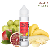 Blood Orange, Banana Gooseberry e-liquid by Charlie's Chalk Dust from Pacha Mama series is a sharp fruit blend. A combination of blood orange and gooseberry is sweet and tart, with a smooth banana exhale.