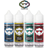 Cosmic Fog 50ml, flavours available: Sonset, Milk & Honey Chill'd Tobacco, Sonrise and Chewberry.