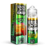 Caramel Apple Cake shortfill e-liquid by Double Drip combines rich and fruity notes for a layered dessert flavour. The apple flavour has sweet notes that are further intensified by caramel; whilst the cake creates a smooth base.