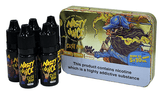 Cush Man - A wave of tropical mango flavour, creating a sweet and sugary inhale with a slightly tart aftertaste.