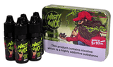 Green Ape - Experience the goodness from this mellow yet flavorful apple flavour. This just the right amount of sweetness and a little hint of tanginess of an apple that you used to eat best describes how real the taste of this flavour. A splash of menthol is added to top off this flavour. Take a 'bite' of an apple with Nasty Juice!