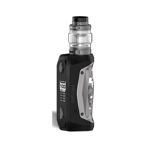 The Geekvape Aegis Solo is a more compact version of the original Aegis. Smaller, lighter and more durable, Aegis Solo is powered with the Latest AS-100 chipset featuring incredible accuracy and stable power output. The Geekvape Aegis Solo is able to produce up to 100W power with a single 18650 battery.