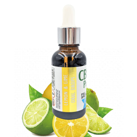 CBD Punto Lemon & Lime flavour Oral Drops is a full-spectrum CBD oil which is taken orally, just a few drops under the tongue. It has a very distinctive smooth earthy taste – pure nature in a bottle.