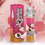 Lychee Ice Cream by Marina Vape flavours blended beautifully in a cool, creamy ice cream vape juice. The perfect mix of sweet, savoury, and creamy. Made in California by Marina Vape.