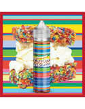 Treats Fruity Pebbles by Marina Vapes E-Liquid  - Your favourite fruity pebble cereal is stuck together with chewy marshmallow and then sandwiching a thick layer of vanilla bean ice cream, this e-liquid from Marina Vape really is a treat!
