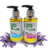 CBD Punto Lavender Massage Oil is the perfect product for breathing new life into tired and aching muscles and joints leaving you feeling invigorated and relaxed.