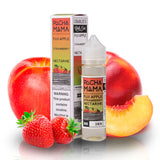 Pacha Mama Apple Strawberry Nectarine  by Charlie's Chalk Dust, you will instantly taste the hints of a fresh fuji apple that perfectly compliments nicely with the flavour of ripe strawberries but, before you think it is over you are pleasantly surprised with the flavour of a sour nectarine.
