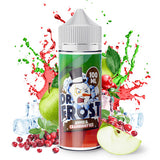 Apple & Cranberry Ice by Dr. Frost eLiquid - Dr Frost is at it again, mixing the freshest of juicy fruits with his signature frozen blast, this combo of sharp cranberries and sweet green apples is one of his best juices!