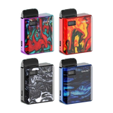 Smok's Mico pod kit is small in stature but big in power and performance. A built-in 700mAh battery fuels upto 26 watts of output power and produces delicious, clear flavour with either of the two compatible coil options.  The Mico pod kit comes complete with two refillable pods, each one fitted with a different coil to facilitate various styles of vaping depending on your mood and individual preferences.