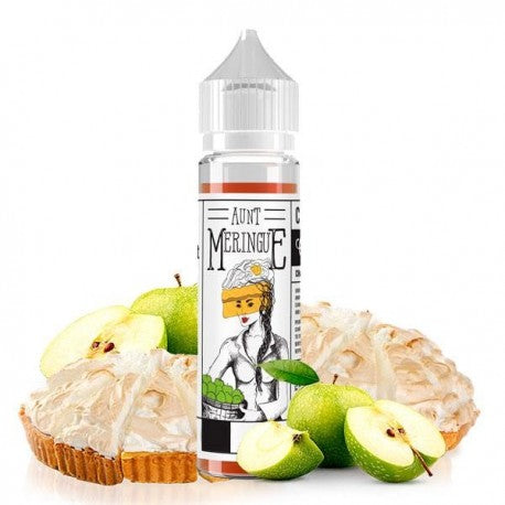 Charlie's Chalk Dust Apple by Aunt Meringue is a 50ml dessert shortfill by that's packed with ripe apple flavour and a light and fluffy meringue.
