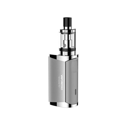 Vaporesso Drizzle Fit Starter Vape Kit.  The device can be classed as a MTL style set up, which will be appealing to someone fresh into the vaping scene, the simplicity of design and user friendly interface will be appreciated and effortlessly used in no time.