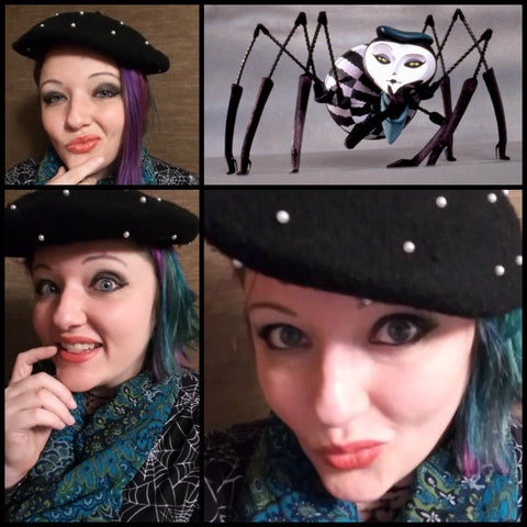 Rebekah as Miss Spider from James and the Giant Peach