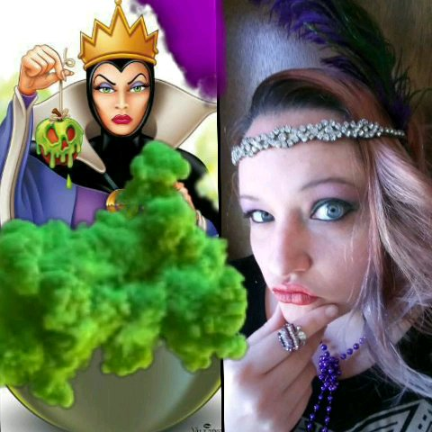disneys evil queen from snow white and rebekah dressup queen