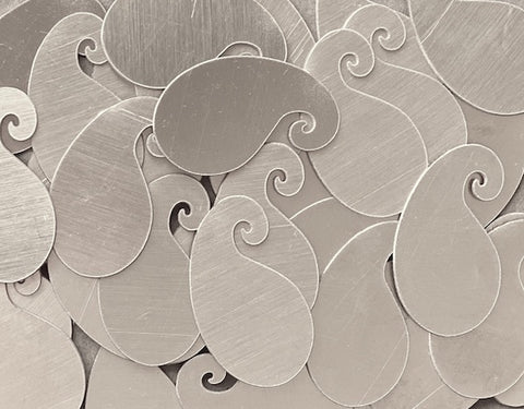 Aluminum Paisley Stamping Blanks