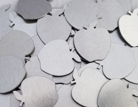 Aluminum Apple Ornament Stamping Blanks