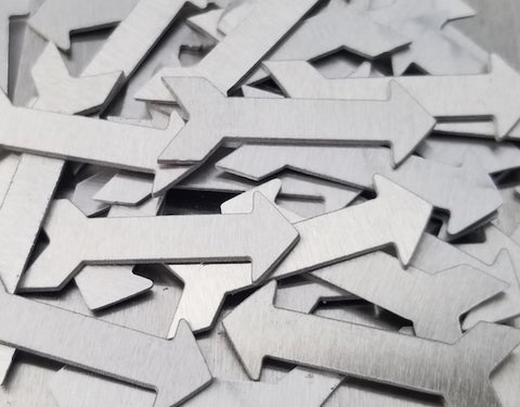Aluminum Arrow Stamping Blanks