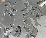Aluminum Elf Ornament Stamping Blanks