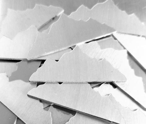Aluminum Mountains Metal Stamping Blanks
