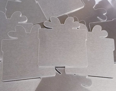 Aluminum Present Ornament Stamping Blanks