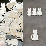 Pewter Cast Cat Stamping Blanks
