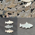 Pewter Cast Fish Stamping Blanks