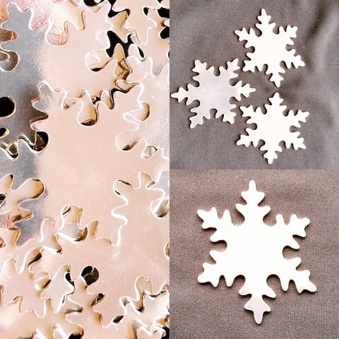 Snowflake Ornament Stamping Blank