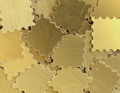 Brass Stamp Stamping Blanks
