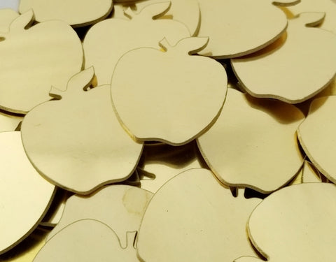 Brass Apple Stamping Blanks