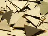 Brass Triangles Stamping Blanks