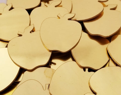 Bronze Apple Stamping Blanks
