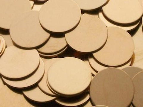 Bronze Discs Stamping Blanks