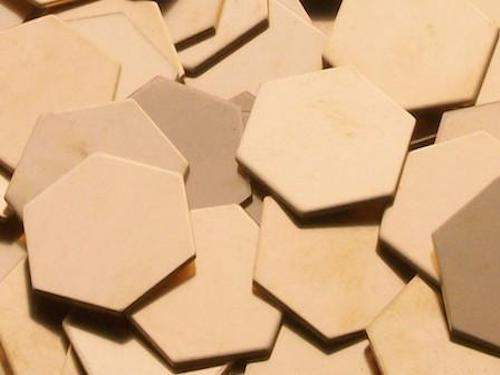 Bronze Hexagons