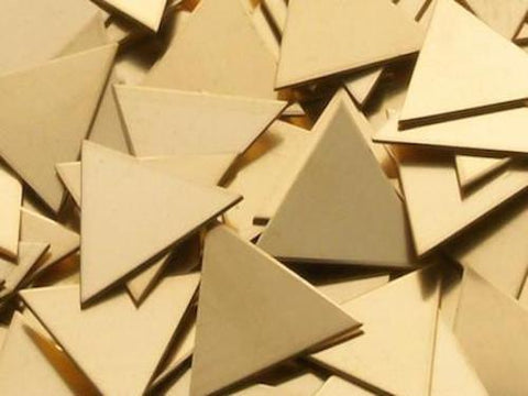 Bronze Triangles Stamping Blanks