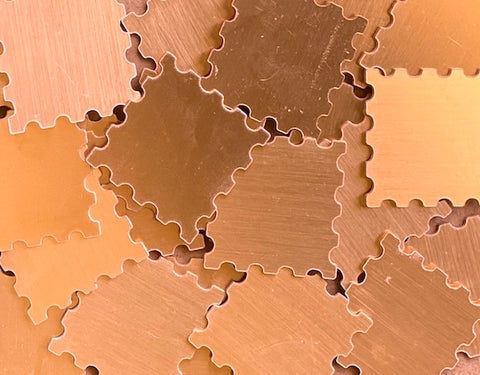Copper Stamp Stamping Blanks