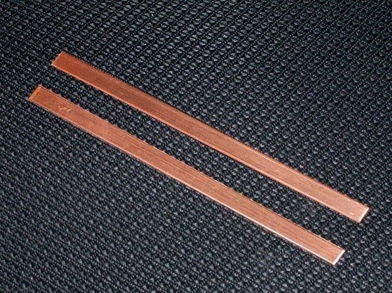 Copper Cuff Stamping Blanks - Light Gauge