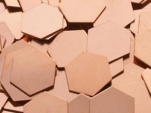 Copper Hexagons