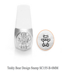 Teddy Bear Design Stamp, 6MM